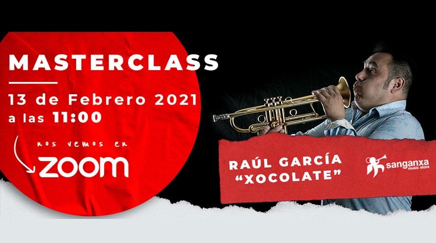 """Masterclass de trompeta con Raúl García """"Xocolate"""""""
