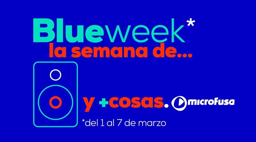 MicroFusa presenta las Blue Weeks