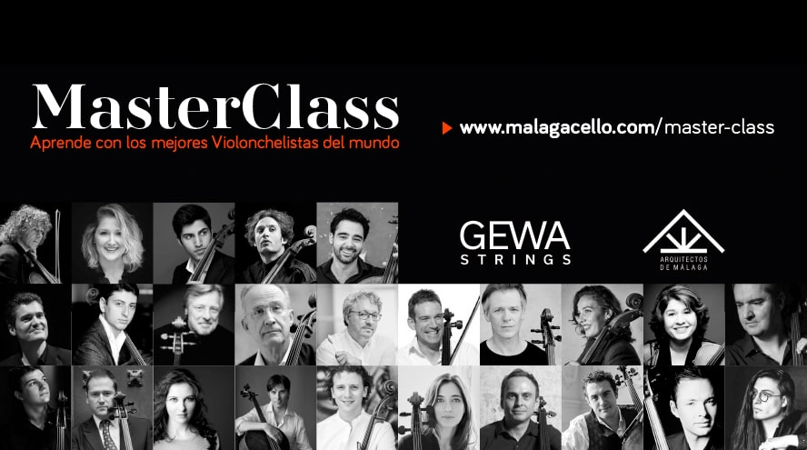 Gewa music Ibérica patrocina Málaga Cello, un evento único en el mundo del cello