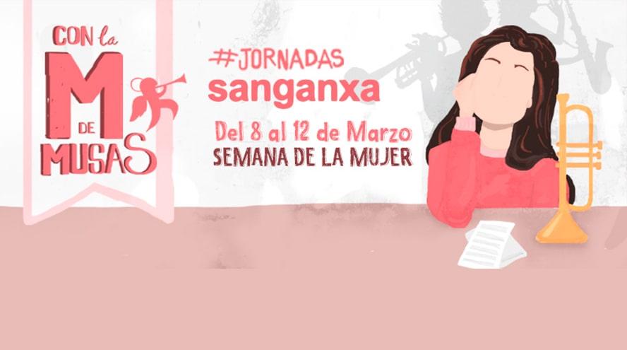Sanganxa celebra unas jornada sobre la mujer y la música