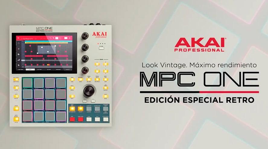 Akai Professional lanza esta edición especial de la MPC-ONE con el look vintage de sus MPC más míticas