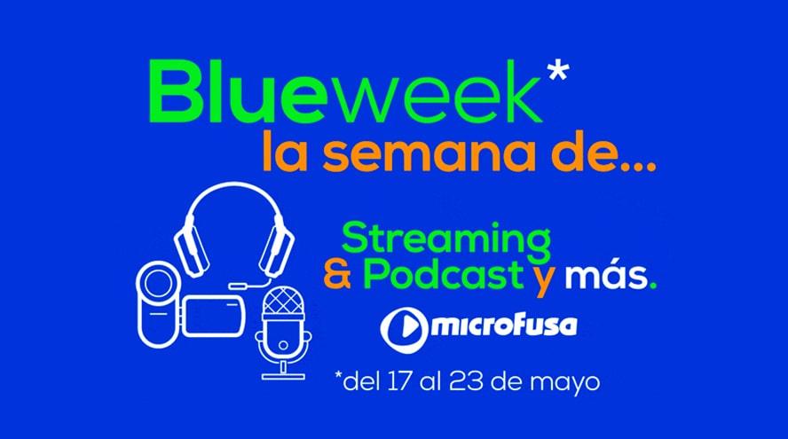 Nueva #BlueWeek de microFusa