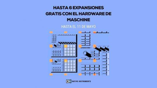 Último día de Expansiones gratis con Maschine