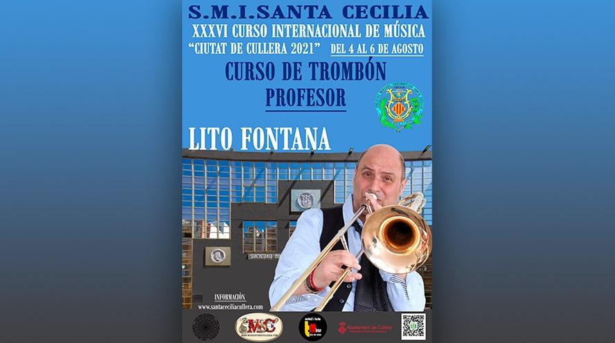 curso de trombón de Lito Fontana