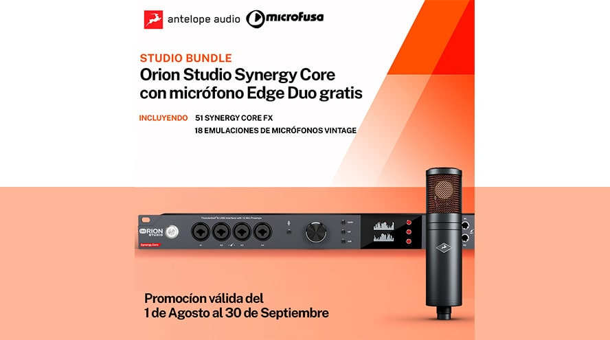 ¡Llévate hasta 299€ en vales con Antelope Audio!