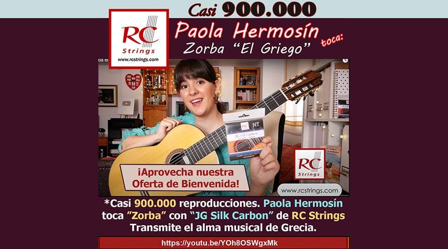 Paola Hermosín interpreta 'Zorba el Griego'